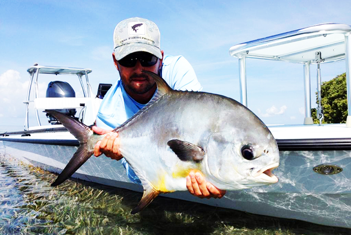 Florida Bay Upper Keys Permit  charter guide captain