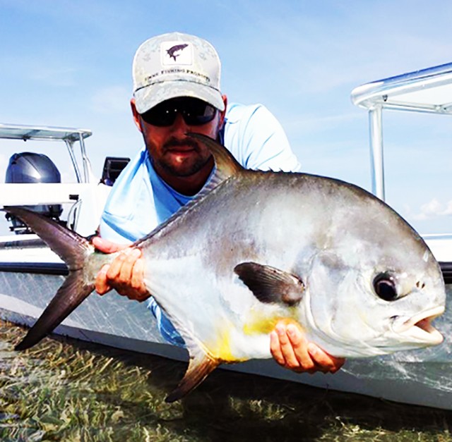 Key Largo Fishing Charters Guide with Permit
